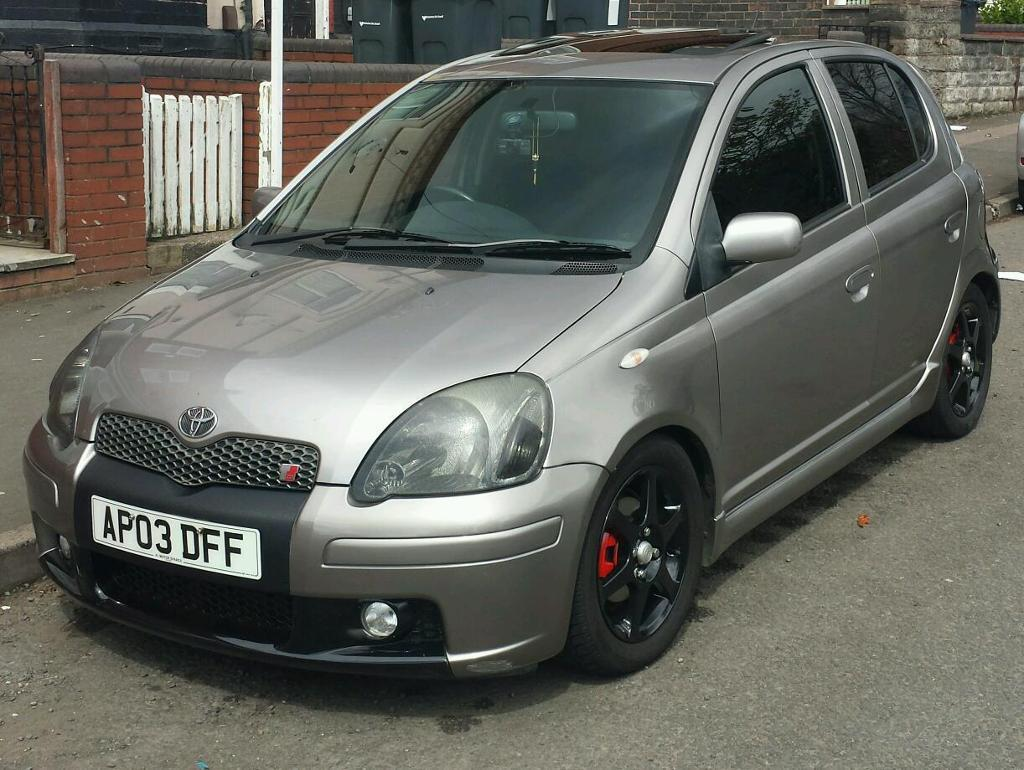 2003 toyota yaris 1 5 t sport facelift very rear in. Black Bedroom Furniture Sets. Home Design Ideas