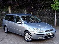 Ford Focus Ghia 1.8 Diesel Manual Estate, very well looked after.