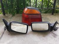 MK3 Golf GTI Wing Mirrors and Right Rear Light