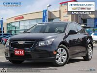 2014 Chevrolet Cruze NO INTEREST & NO PAYMNENTS FOR SIX MONTHS