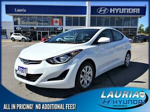 2016 Hyundai Elantra GL Auto - Bluetooth / Heated seats