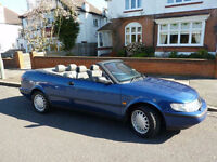 Saab 900 SE 2.3 Convertible 1998 only 57700 miles