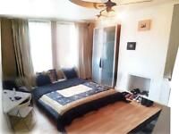 GREAT EXTRA LARGE DOUBLE room for ONE Person in GREENFORD (1 bedroom) £125 ALL BILLS INCLUDED