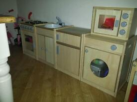Early years wooden kids kitchen