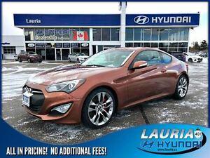 2013 Hyundai Genesis Coupe 3.8L GT - Manual - Leather / Navigati