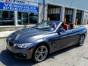 2017 BMW 430I XDRIVE CABRIOLET GROUPE LUXE Z4B,SUSPENSION M ADAP