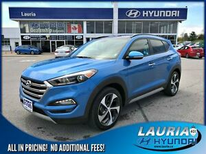 2017 Hyundai Tucson 1.6T AWD SE Auto - Leather / Panoramic sunro