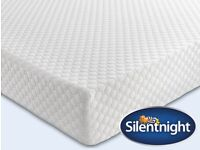 Silentnight Mattress Now Comfortable 160 x 200 Euro (IKEA) Size King Mattress in a Box