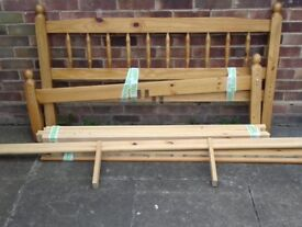 Double bed frame £50