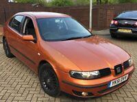 MK1 Seat leon cupra 20v turbo 200 bhp quick car not civic type r golf mk2 mk3 mk4 gti subaru 206
