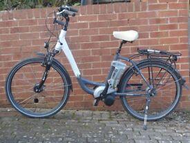 Kalkhoff Agattu C8 step through electric bike. Small (45cm) frame. 540Wh/15Ah/36v battery