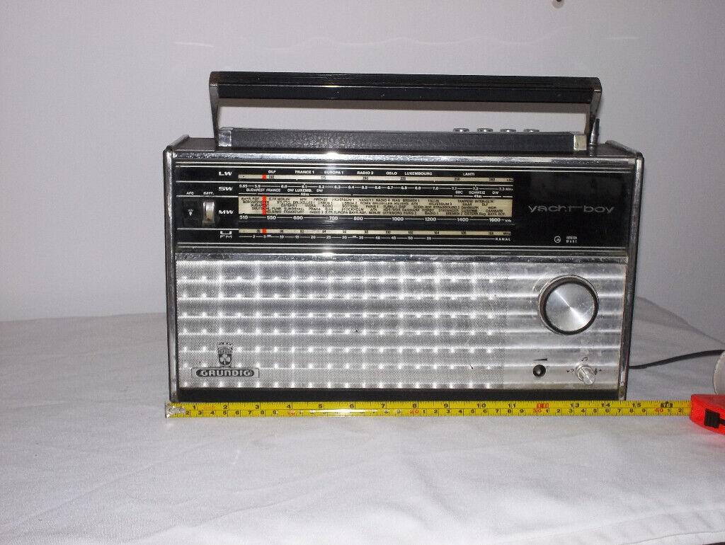 GRUNDIG YACHT-BOY mains/battery 4 bands radio | in Poole, Dorset | Gumtree