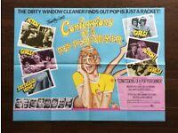 confessions of a pop performer ' original vintage 1975 film poster