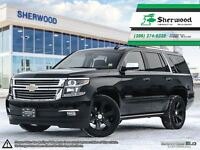 2015 Chevrolet Tahoe LTZ Fully Loaded Black on Black!!