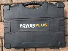 Powerplus 18v, 90° angled drill/driver.