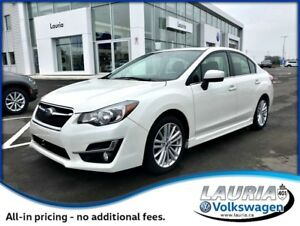 2015 Subaru Impreza 2.0i AWD Limited Manual