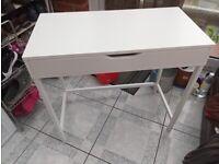 79x40 single IKEA alex white desk - very good
