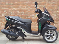 Yamaha Tricity 125, Immaculate Condition, ONY 597 MILES!