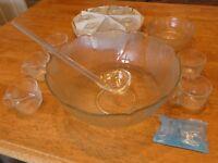 Glass Punch Set