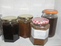 swapping ; jam marmalde or chutneys for fruit trees and pruning.