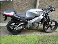 APRILIA RS125 2001 COMPLETE REQUIRES RECOMMISSIONING