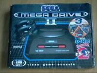 Sega mega drive 2 boxed console