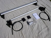 Genuine Audi A3 Roof Bars for Sportback 2012 on. Part No. 8V3071126