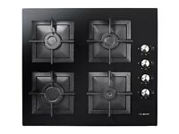 NEW Focal Point 60cm Black Built In Hob Energy Rated A