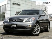 2015 Infiniti QX50 PREMIUM! LOW KM! LIKE NEW!