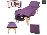 Massage Imperial® Professional Lightweight Purple Orvis Portable Massage Table