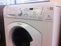 HOTPOINT Aquarius+ , White , 7kg , LCD , WASHER DRYER + 3 Month Guarantee + FREE LOCAL DELIVERY