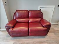 2 electric recliner 2 seater sofas..