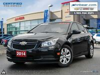 2014 Chevrolet Cruze 1LT SALE ON NOW, RATES AS LOW AS 0.9%