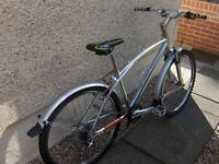 Custom Built Mountain/Cruiser Bike 1X9 Speed Polished Alloy 16inch Frame VERY HIGH SPEC EH51