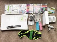 Nintendo Wii and Wii Fit bundle