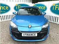 CAN'T GET CREDIT? CALL US! Renault Megane 1.5 dCi Dynamique TomTom - £200 DEPOSIT, £40 PER WEEK