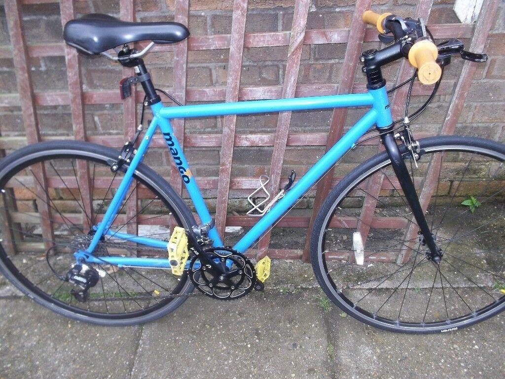 Mango, fast commuter road hybrid bike, deore gears