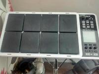 Roland SPD30 V2 plus stand and v-drums kick pad