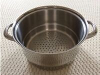JOHN LEWIS CLASSIC STAINLESS STEEL STEAMER