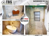 TBS - bathroom fitting, plumbing, tiling, units replacement, wet rooms, maintenance, other services