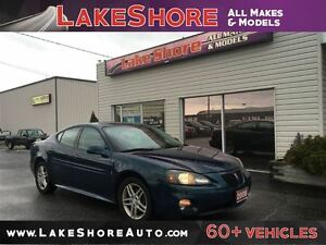 2006 Pontiac Grand Prix GT LOW KMS LEATHER ALLOY WHEELS SUNROOF
