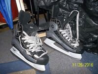 Ice skates and accessories