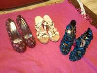 Ladies shoes size 3
