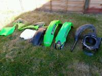 Motocross kx plastics not kxf cr crf RM rmz yz yzf mx