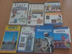 SELECTION OF TRAVEL BOOKS