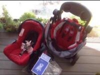 Graco travel system. Pram. Buggy . Pushchair. Stroller.