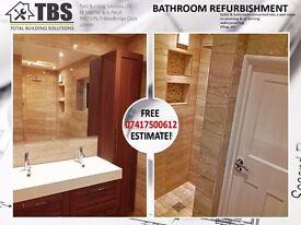 TBS - kitchen, bathroom, handy man, painters, tilers, carpenters, plumbers, flooring, builders,