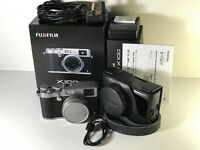 Fujifilm X100T - (Fully Boxed) With Leather Camera Case, 16GB Sans Disk & 3X Rechargable Batteries