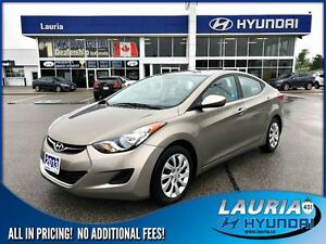 2013 Hyundai Elantra GL Auto - Bluetooth / Heated seats