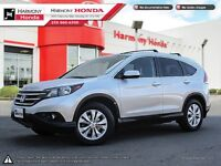 2012 Honda CR-V EX-L - ONE OWNER - LOCALLY PURCHASED VEHICLE - H